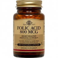 FOLIC ACID 800mg tabs 100s