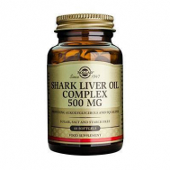 SHARK LIVER OIL 500mg softgels 60s