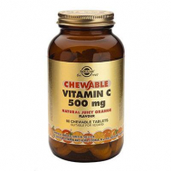 VIT.C 500mg chewable ORANGE tabs 90s