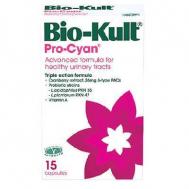 Bio-Kult Pro-Cyan 15 caps (Προηγμένη ΤΡΙΠΛΗ σύνθεση Cranberry για την υγεία του ουροποιητικού)