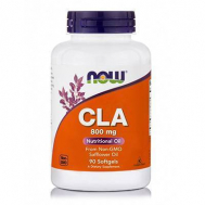 CLA® 800 mg (from 1000 mg - Conjugated Linoleic Acid 80 % CLA + Ginger, Cinnamon, Cayenne) - 90 Softgels