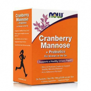 CRANBERRY, MANNOSE + PROBIOTICS - 24 Packets per Box