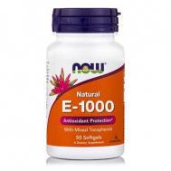 E-1000 IU, Mixed Tocopherols- 50 Softgels