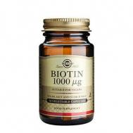 BIOTIN 1000mg veg.caps 50s