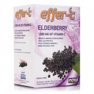 EFFER-C Elderberry  (Iodine Free !! - Sugar Free!!) - Vegetarian 30 Packets
