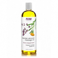 LAVENDER-ALMOND MASSAGE Oil - 16 fl oz (473,1 ml)