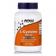 L-CYSTEINE 500 mg, (Β-6, Vit.  C) - 100 Tabs