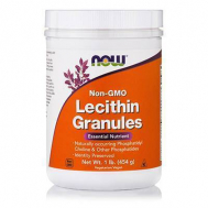 LECITHIN GRANULES (Non GMO) - Vegetarian 1 lb (454 gr)