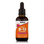 B-12 COMPLEX LIQUID  - Vegetarian 2 oz. (59,2 ml)