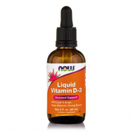 D-3 LIQUID (400 IU/4 drops) - 2 oz (59,2 ml)