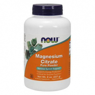 MAGNESIUM CITRATE Pure Powder - Vegetarian 8 oz (226,7 gr)