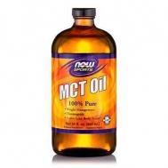 MCT Oil, 100% Pure (in Glass) - Vegeterian 32 oz (946,2ml)