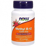 METHYL Β-12 5,000 mcg (Methylcobalamin) - 60 Lozenges