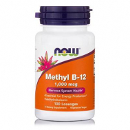 METHYL B-12 1,000 mcg (Methylcobalamin) - 100 Lozenges