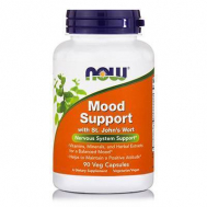 MOOD SUPPORT w/ St JOHN'S Wort - 90 Vcaps® 450 mg St. John's Per 2 Vcaps® (Minimum 0.3% Hyperecin) + Formula