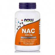 NAC 600 mg, (N-Acetyl Cysteine, Selenium, Molybdenium) 100 Vcaps®