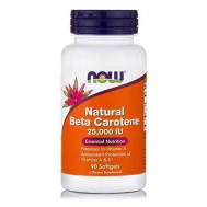 BETA CAROTENE NATURAL (25,000 IU Sea Algae Sourse-Betatene®) - 90 Softgels