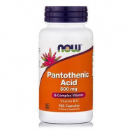 PANTOTHENIC ACID 500mg - 100 Caps