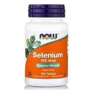 SELENIUM 100 mcg  (Yeast Free Selenomethionine) - Vegetarian 100 Tabs