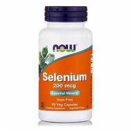 SELENIUM 200 mcg  (Yeast Free Selenomethionine) - Vegetarian 90 Vcaps®