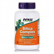 SILICA COMPLEX (40 mg HorseTail Extract !!!) 500 mg - 90 Tabs (Hair, Skin and Nails Health)