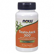 TESTO JACK 300™, 300 mg w/ Standarized Long Jack - 60 Vcaps®
