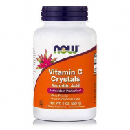 C CRYSTALS (100% Pure Ascorbic Acid) - Vegetarian 8 oz, (227 gr)