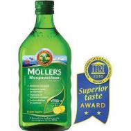 Nature's Plus Moller's Μουρουνέλαιο Lemon 250ml