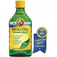 Nature's Plus Moller's Μουρουνέλαιο Natural 250ml