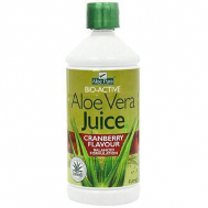 Optima Aloe Vera Juice with Cranberry Flavour 1Lt