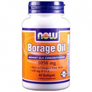 Now Foods BORAGE OIL 1050 mg, 60 Softgels