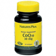 Nature's Plus Coenzyme Q10 30 Mg Softgels 30