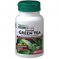 Nature's Plus Green Tea Chinese 400 Mg Vcaps 60