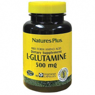Nature's Plus L-Glutamine 500 Mg Vcaps 60