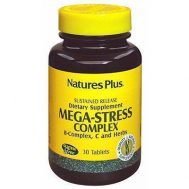 Nature's Plus Mega-Stress Complex S/R Tablets 30