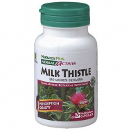 Nature's Plus Milk Thistle 250 Mg Vcaps 60