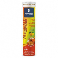 My Elements VitaminALL with Curcumin 20 αναβράζοντα δισκία Fruits Flavour
