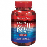 Nature's Plus Omega Krill Oil 600mg Vcaps 60