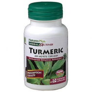 Nature's Plus Turmeric 400 Mg Vcaps 60