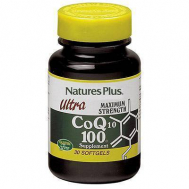Nature's Plus Ultra Coq10 100 Mg Softgels 30
