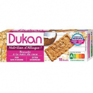 Dukan Μπισκότα βρώμης με γεύση καρύδα, 225γρ.