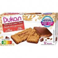 Dukan Μπισκότα βρώμης με επικάλυψη σοκολάτας, 200 γρ.