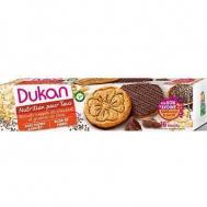 Dukan Μπισκότα βρώμης με επικάλυψη σοκολάτας και σπόρους chia, 160 γρ.