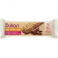 Dukan Μπάρες βρώμης με επικάλυψη σοκολάτας και σπόρους Chia, 37 γρ.