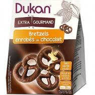 Dukan Pretzels βρώμης με επικάλυψη σοκολάτας, 100 γρ.