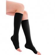 Κάλτσες Κ.Γόνατος Class II ΑΔ Μαύρο
