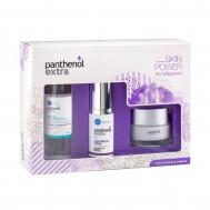 PANTHENOL EXTRA Set Αντιρυτιδική Κρέμα 24h Face & Eye 50ml & Micellar True Cleanser 100ml & Αντιρυτιδικός Ορός για Πρόσωπο και Μάτια 30ml