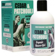 Apiarium Αφρόλουτρο Cedar & Patchouli 300ml