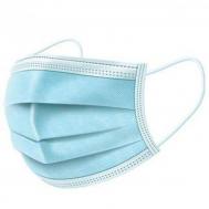 Biotherapy Μάσκες Χειρουργικές Μπλε Με Λάστιχο/Κορδόνι Μιας Χρήσης 1τεμ