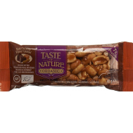 Taste of nature - Chocolat caramel peanuts  bar 40g